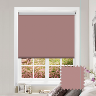 Pink Roller Blind - Bahamas Nude Pink